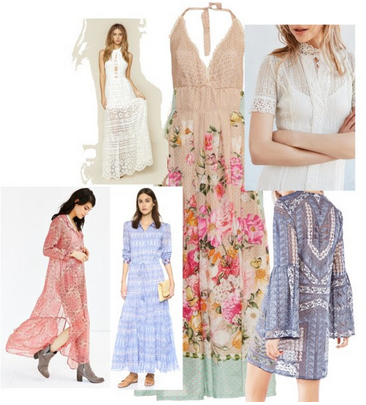 Wearable Spring Trends Victorian Influences April 2016