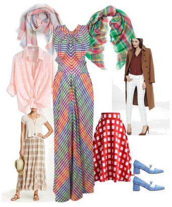 Wearable Spring Trends Oversized Plaids April 2016