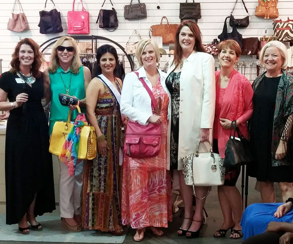 Fashionable women at The Closet Exchange in Johns Creek, GA