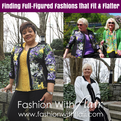 Finding Full-Figured Fashions that Fit & Flatter