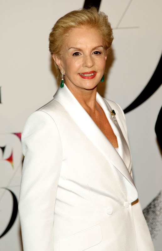 Carolina Herrera attends the 2008 CFDA Fashion Awards at the New York Public Library on June 2, 2008 in New York City.
